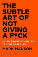 NEW The Subtle Art of Not Giving a F*ck By Mark Manson Paperback Free Shipping