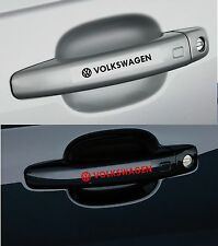 For VOLKSWAGEN VW  4 x Door Handle  CAR DECAL STICKER - POLO GOLF - 100mm long
