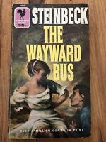 The Wayward Bus By John Steinbeck, Copyright 1947, Paperback, Bantam Books.
