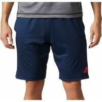 Adidas Men's Axis Team Issue Knit Shorts Navy/Energy BR3094