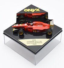 Onyx 212 Ferrari 412 T1B Rennwagen Gerhard Berger 1994, 1:43 , OVP, B308