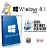 Windows 8.1 Pro 32/64 BIT Genuine License Activation Key Download Link🔑