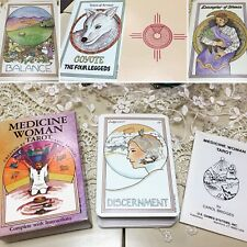 MEDICINE WOMAN TAROT DECK US GAMES SYSTEMS VTG 1987 CAROL BRIGES PRINTED BELGIUM