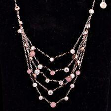 Michael Kors mkj6527791 Necklace/Necklace Quartz/Crystal Colour: Rose Gold NEW