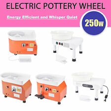 Electric Pottery Wheel Ceramic Machine For Work Clay Art Craft Set w. Clay Tools