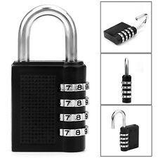 Combination Lock 4-digit Padlock Keyless for School Work Gym Lockers New