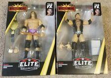 TRIPLE H, Scott Hall WWE Mattel Wrestlemania Elite collection Figure Belt NEW!!