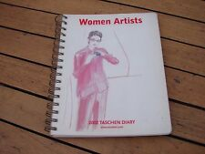 Taschen Diary 2002 Women Artists Art Not Used Collectable GSP
