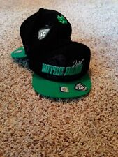 Notre Dame Fighting Irish logo cap hat One Size straight bill green and black  D