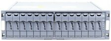 NetApp ds14 mk4 Disk Shelf incl. 14x 450 GB 15k x291a Dischi Rigidi + 2x esh4