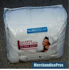 Allergy Relief Allergy Protection Ultra Soft Comforter King 104 x 92 New!