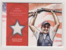 2012 TOPPS OLYMPIC KIM RHODE RELIC CARD ~ SHOOTING
