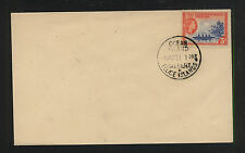 Gilbert  and  Ellice  Island cover  1957    5d  stamp                 WPX1105
