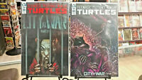 TEENAGE MUTANT NINJA TURTLES #99 TMNT LOT COVER A + B IDW NEW NM+