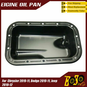 Lower Engine Oil Pan for 2011 2012 2013-2019 Dodge Challenger  3.6L 5184546AB