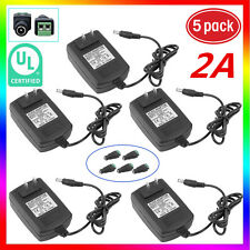 5PCS 12V 2A  Power Supply AC to DC Adapter for 3528 Flexible LED Strip Light VIP