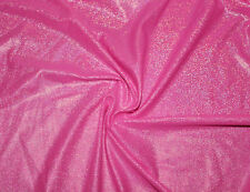 Hotpink Holographic Lycra/Spandex 4 way stretch Fabric By The 1/2 Yard