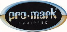 2 Pro-Mark equipped stickers - Brand new