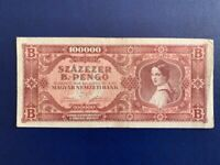 Reproductions UNC Hungary 100 Forint 1946