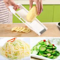 6× Vegetable Fruit Mandolin Slicer Peeler Potato Cutter Chopper Kitchen Tool