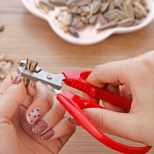 Stainless Steel Nut Shell Cracker Seed Pistachio Sheller Opener Peeling Pliers
