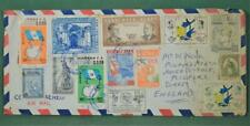 GUATEMALA STAMP COVER  TO  ENGLAND   (W65)