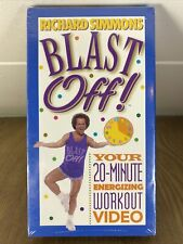 Richard Simmons BLAST OFF 20 Minute Energizing Workout Video (VHS) Sealed 1999