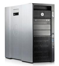 HP Z820, 10-Kern XEON E5-2680 V2, 64GB RAM, 600GB SSD + 600GB SAS, GTX 960, WLAN