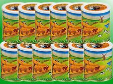 (4,92€/kg) 12 x Vollkornbrot a 500g  Dosenbrot, Notverpflegung, Langzeitnahrung