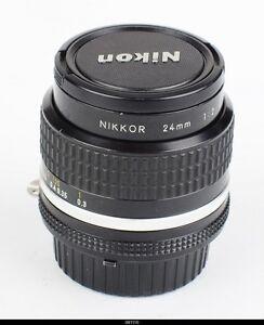 Lens Nikon AI-S 2/24mm Nikkor