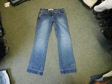 "Cherokee Straight Jeans Size 12 Leg 32"" Faded Dark Blue Ladies Jeans"