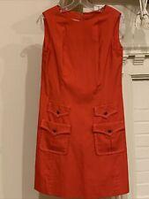 New listing 1960s Vintage California Girl Red Mod Go-Go Dress