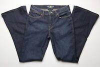 Lucky Brand Womens Blue Jeans Size 4 / 27 Charlotte Kick Flare Stretch Dark Wash