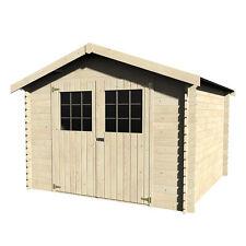 Casetta in legno Florinda capanno attrezzi quadrato 298x298 cm