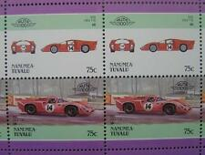 1970 LOLA T70 Mk III Sports Car 50-Stamp Sheet / Auto 100 Leaders of the World