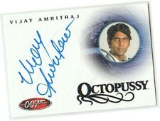James Bond 40th Anniversary - A13 Vijay Amritraj - Vijay Autograph/Auto Card