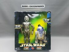 Star Wars Toys R Us Exclusive  ELECTRONIC C-3PO & R2-D2 box set  sw-618