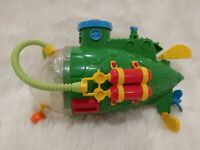 Sewer Sub Vehicle Teenage Mutant Ninja Turtles TMNT 1991 Submarine VTG