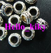 150 pcs Tibetan silver 4mm holes spacer beads A928