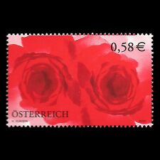 "Austria 2002 - Greeting Stamp ""Roses"" Art - Sc 1888 MNH"