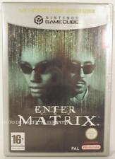 jeu ENTER THE MATRIX pour Nintendo GAMECUBE en francais game spiel juego COMPLET