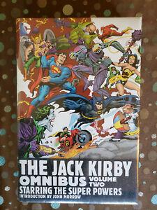 NEW SEALED DC Jack Kirby Omnibus Volume 2 HC Hardcover Super Powers Darkseid OOP