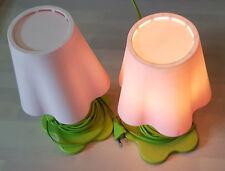 Ikea Lampe Mammut Blume Stehlampe Tischlampe Leuchte Kinderlampe Rosa Grün a