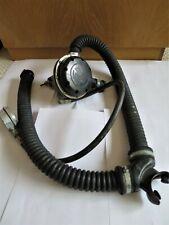 Merlin Heinke diving regulator, hoses and contents gauge - vintage