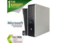 HP Compaq Refurbished Desktop Computer DC7800 Core 2 Duo E8400 (3.00 GHz) 4 GB D