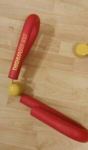 Vintage Suzanne Somers ThighMaster Gold Thigh Master Exerciser Machine GUC