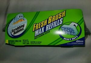 Scrubbing Bubbles Fresh Brush Heavy Duty Refill, 8ct