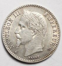 50 CENTIMES NAPOLEON III TETE LAUREE 1866BB STRASBOURG