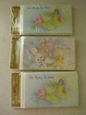 Sweet Vintage Birth Announcements (3) Packs of 10 American Greetings Unisex