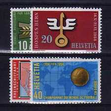 SUISSE SWITZERLAND Yvert  n° 544/547 neuf sans charnière MNH